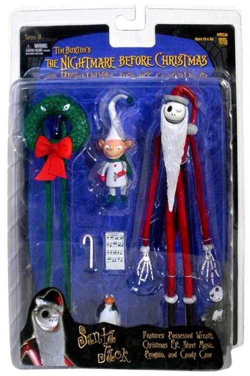 Neca Nightmare Before Christmas Series 3 SANTA JACK SKELLINGTON MOC