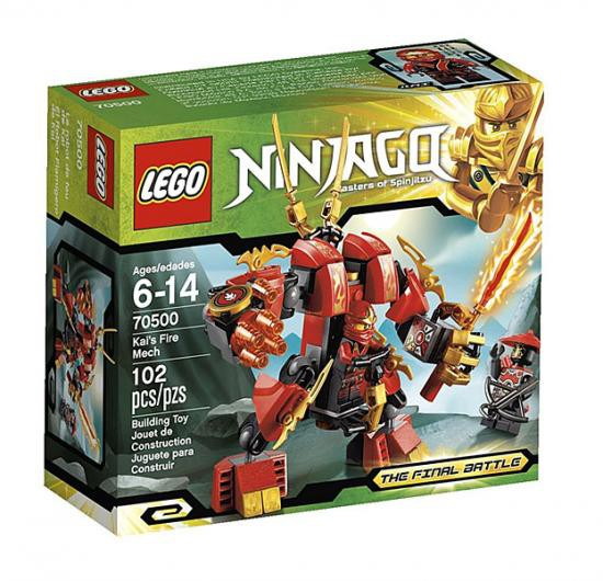 Lego Ninjago  Kai The Final Battle Minifigure From Set 70500
