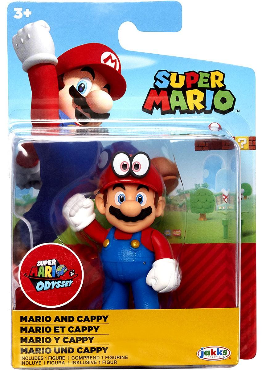 Super Mario Wave 20 Standing Mario Odyssey 2 5 Inch Mini Figure