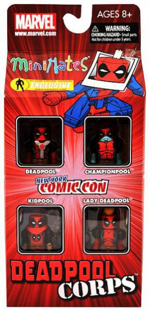 Marvel Minimates Deadpool Corps Championpool