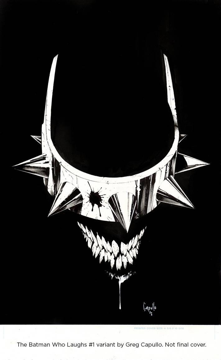 Batman Who Laughs #1 CAPULLO COVER A DC COMICS NM