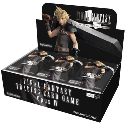 FINAL FANTASY TCG OPUS IX COLLECTION BOOSTER SEALED 6 BOX CASE ENGLISH