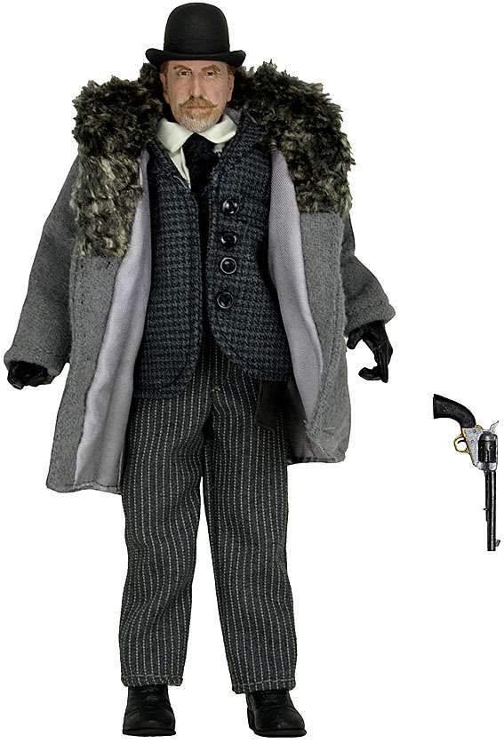 Tim Roth THE HATEFUL EIGHT MOVIE 8IN CLOTHED FIGURE Oswaldo Mobray
