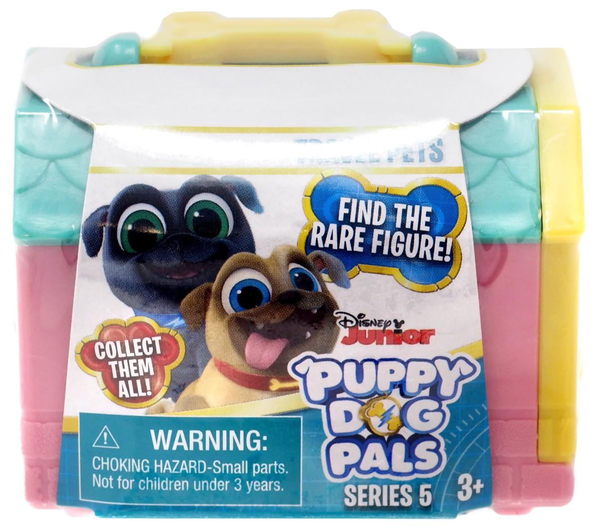 PUPPY DOG PALS Travel Pets DISNEY JUNIOR figurine mystery CUPCAKE