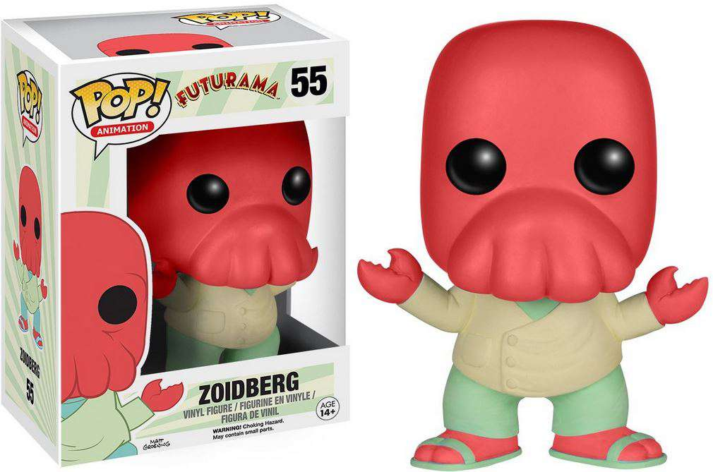 Funko Futurama Pop Animation Zoidberg Vinyl Figure 55 Ebay