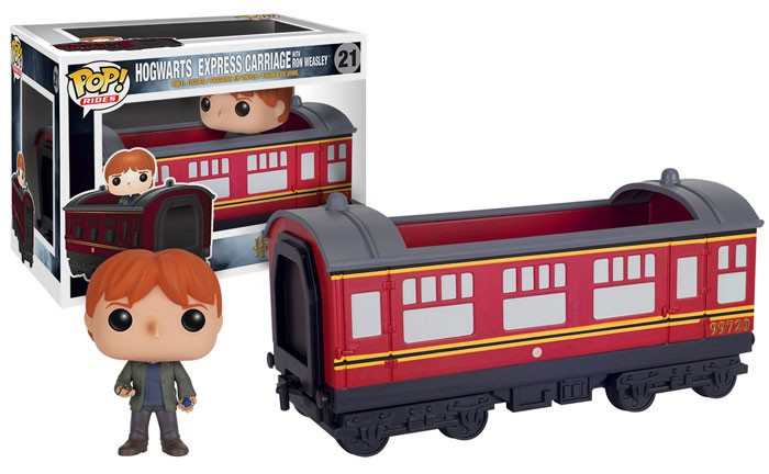 Hogwarts Express with Ron Weasley Harry Potter Funko POP Vinyl New in Mint Box