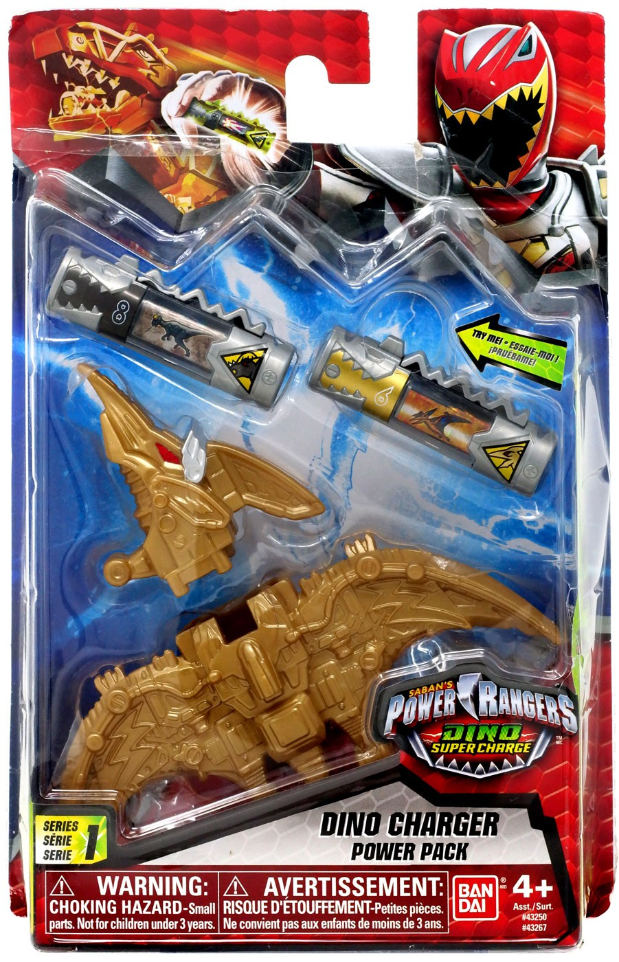 - Power Rangers Dino Super Charge Gold Dino Charger Power Pack
