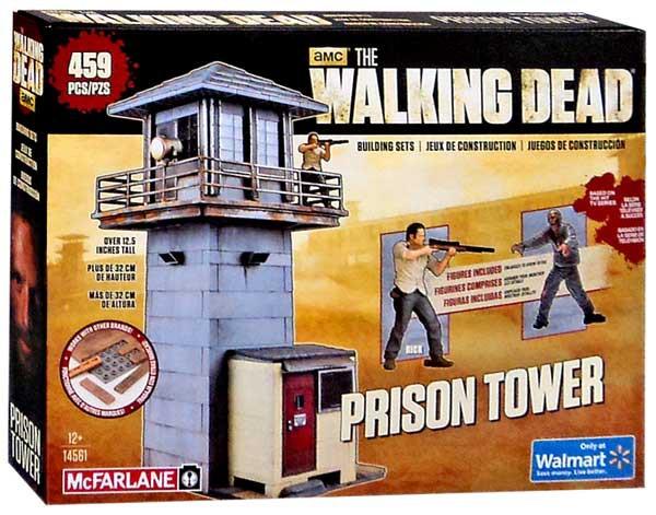 RICK GRIME WALKER FIGURES 14561 MCFARLANE TOYS THE WALKING DEAD PRISON TOWER