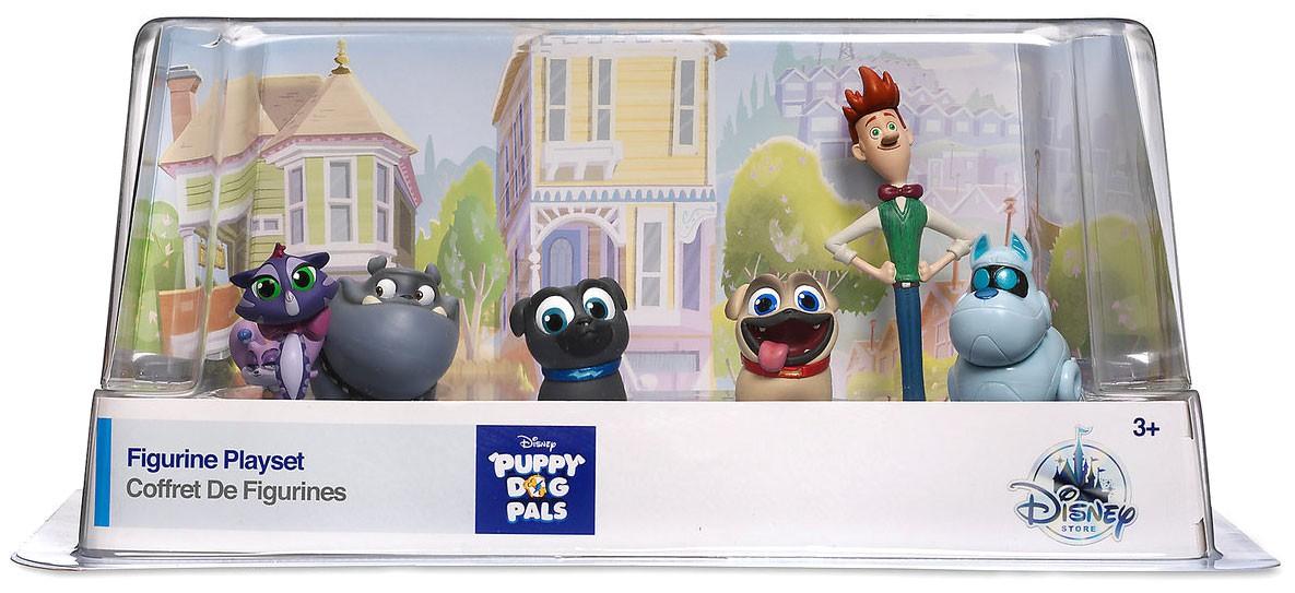 Disney Junior Puppy Dog Pals Exclusive 6 Piece Pvc Figure Playset