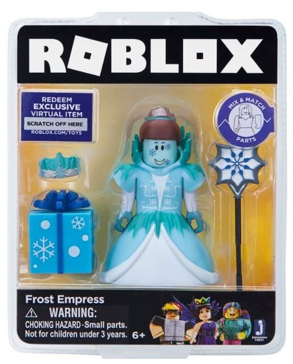 Zabawki Roblox Frost Empress Action Figure Exclusive Digital Roblox Frost Empress Action Figure 681326198376 Ebay