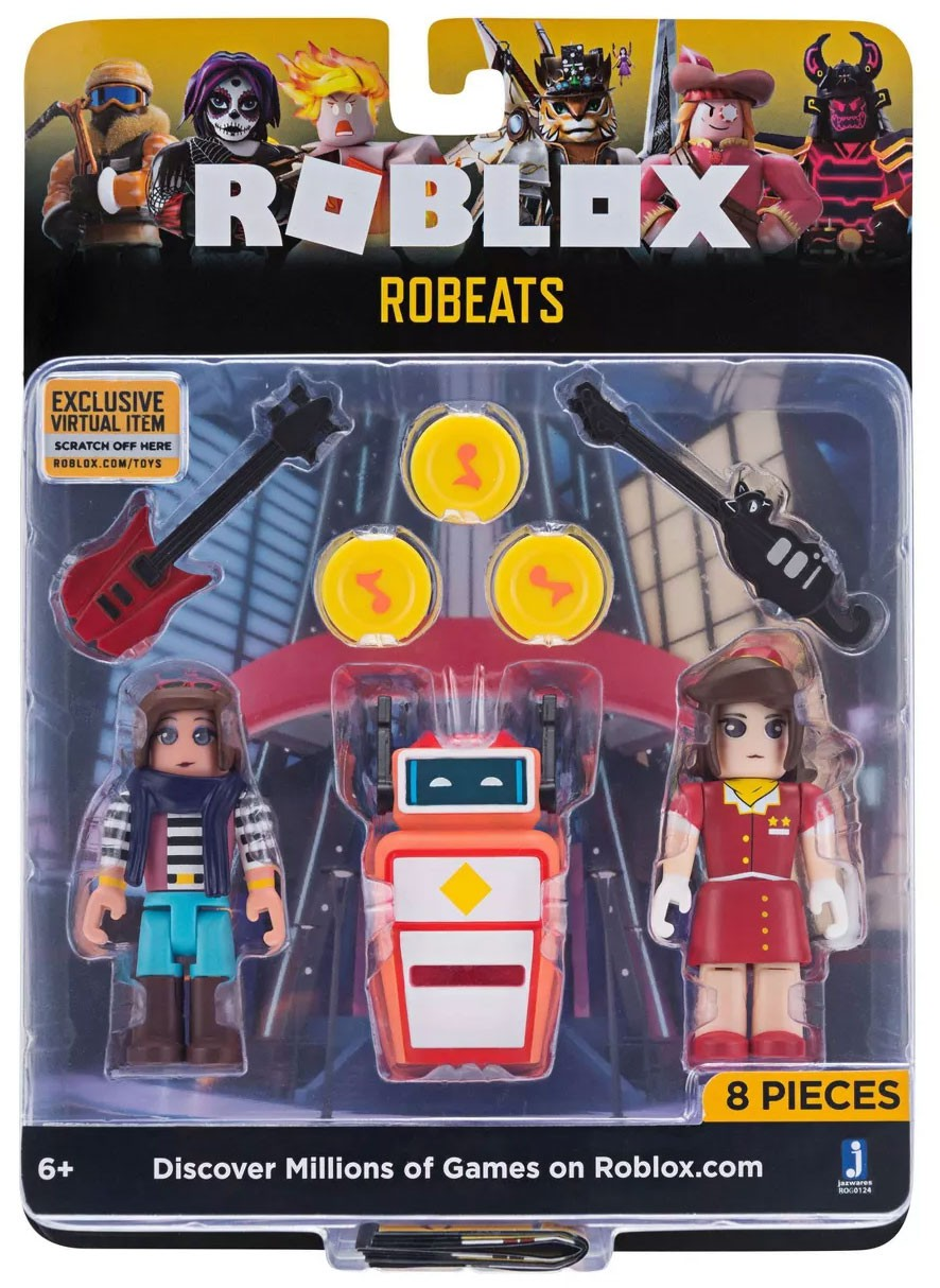 Ro Beats Roblox Roblox Celebrity Collection Robeats Action Figure 2 Pack 191726004516 Ebay