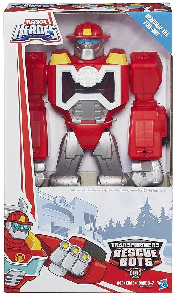 Details about Rescue Bots Playskool Heroes Heatwave 11 Action Figure [Epic  Series]