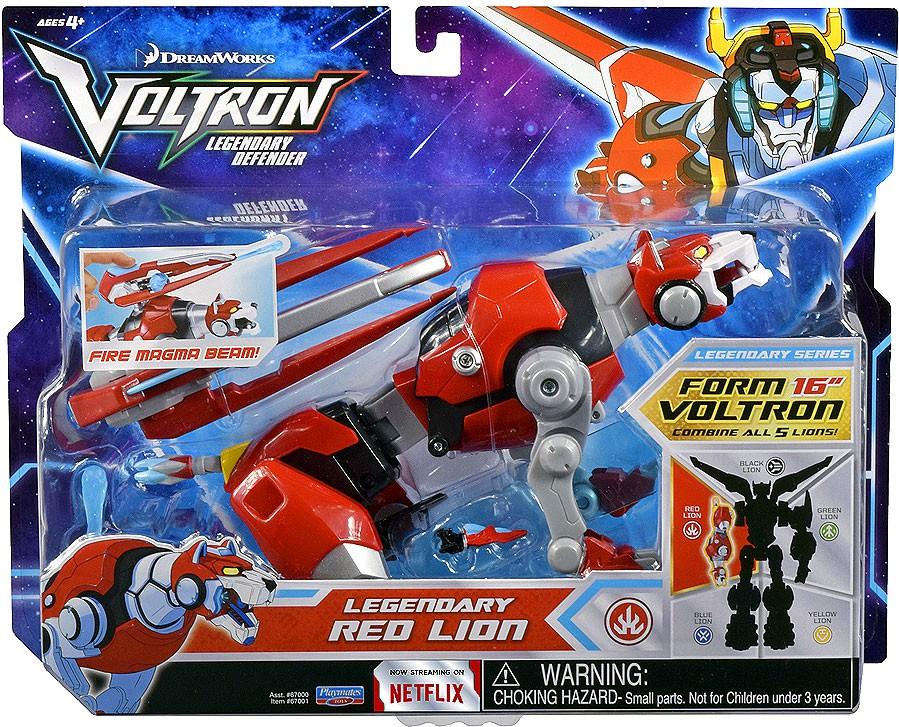 Voltron Legendary Red Lion
