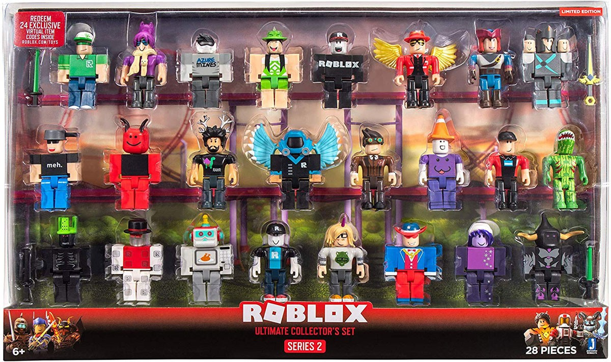 Haggie125 Roblox Mini Figure W Virtual Game Code Series 2 New Ebay - Roblox Series 2 Ultimate Collector S Set Action Figure 24 Pack