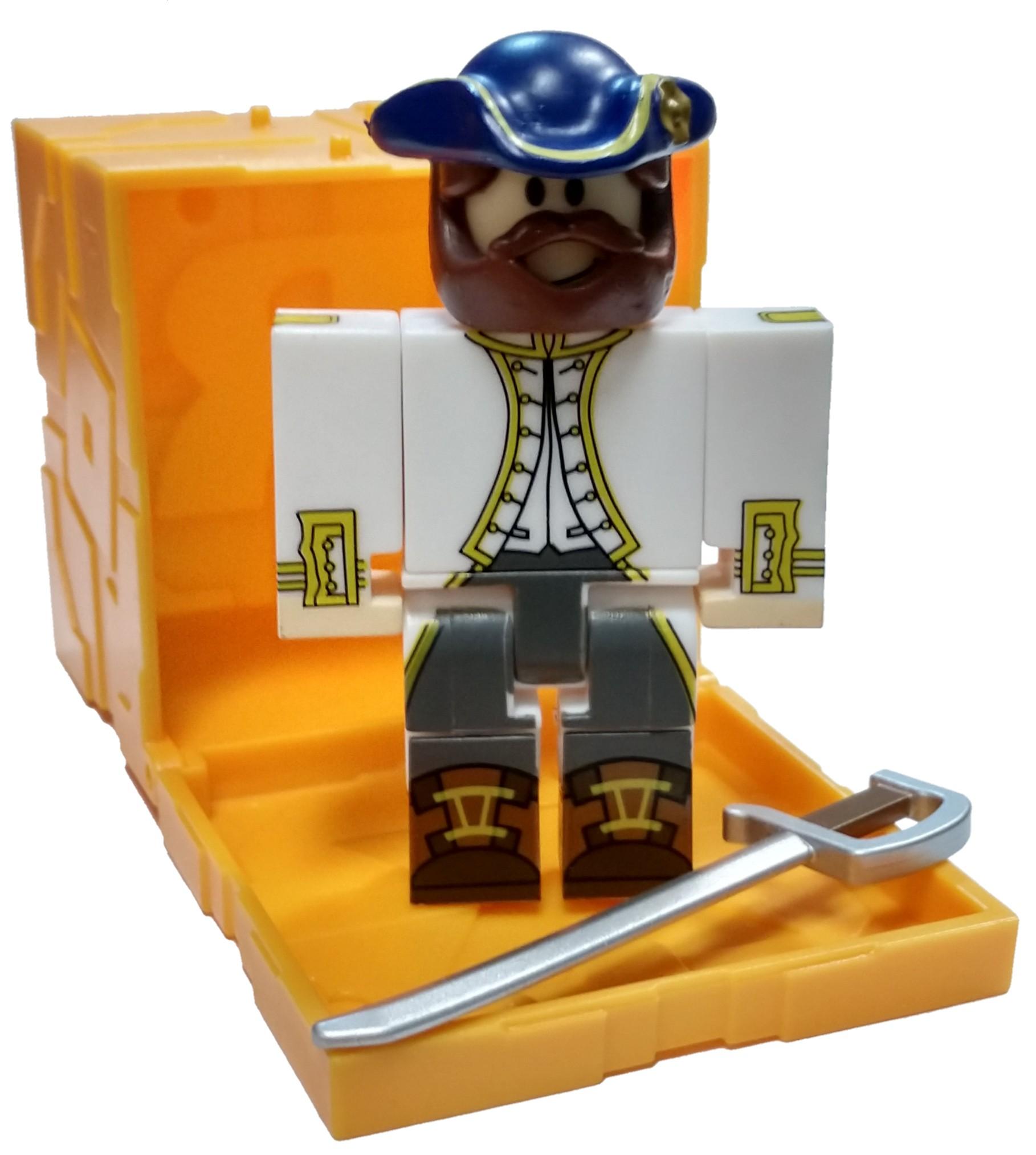 Haggie125 Roblox Mini Figure W Virtual Game Code Series 2 New Ebay - Roblox Series 5 Tradelands Whitecrest Admiral Mini Figure Ebay