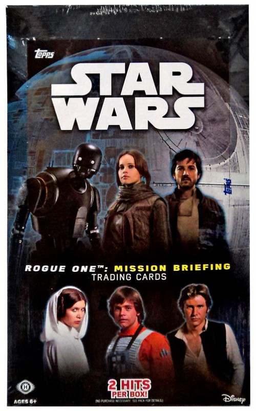 Star Wars Rogue One Mission Briefing Blue Base Card #70 Training a Hero