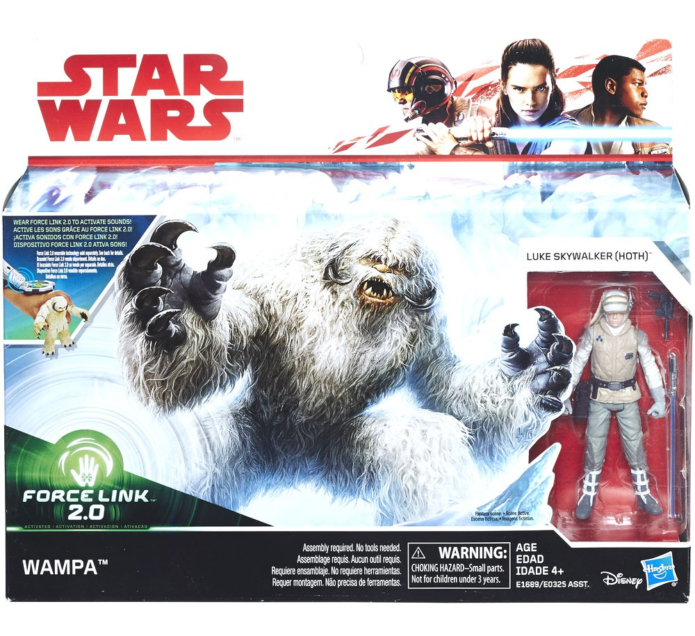 Star Wars Authentic Force Link 2.0 Wampa Figure Loose Complete