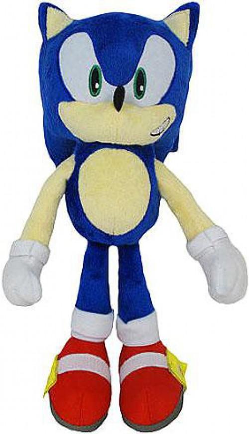 Sonic The Hedgehog 20th Anniversary Sonic 12 Inch Plush Classic Ebay