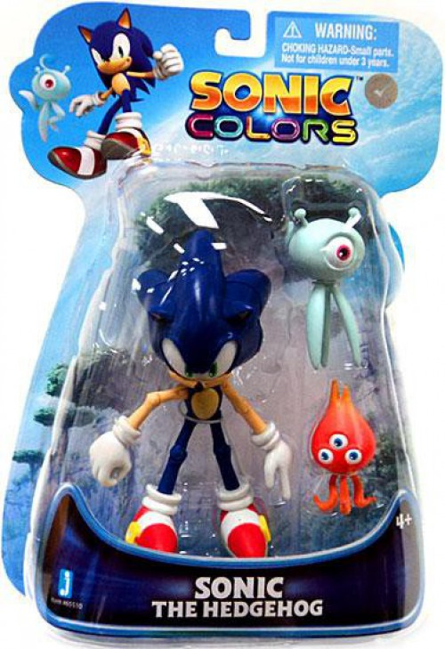 Sonic The Hedgehog Sonic Colors Sonic Action Figure With Wisps 681326655107 Ebay
