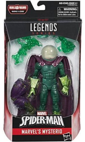 Spider-Man Marvel Legends Lizard Series Mysterio Action Figure