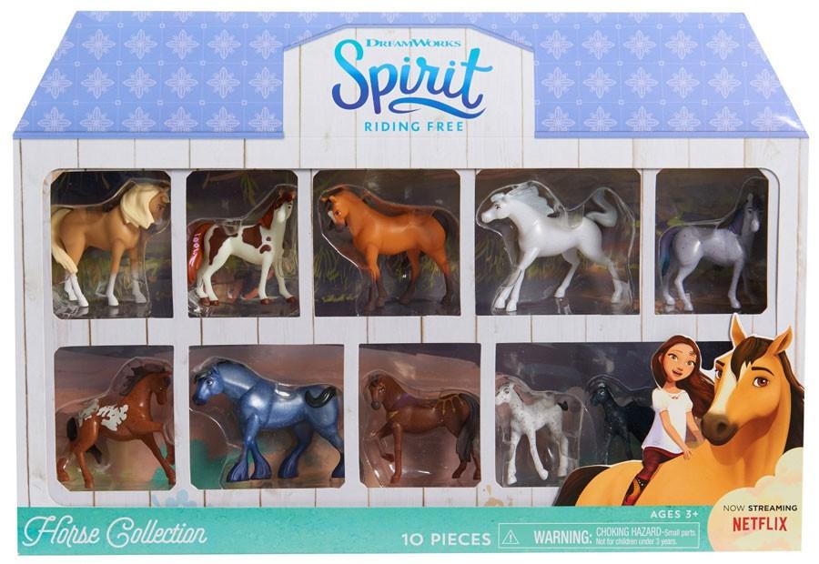 Nuevo Mini Coleccionable libre de montar caballo Spirit figura serie 5 Onda 1