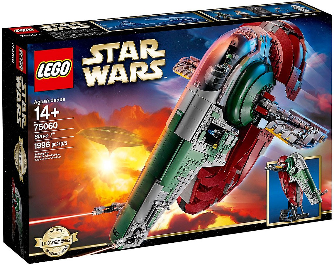 Lego Star Wars Empire Strikes Back Slave I Set 75060 673419210614 Ebay