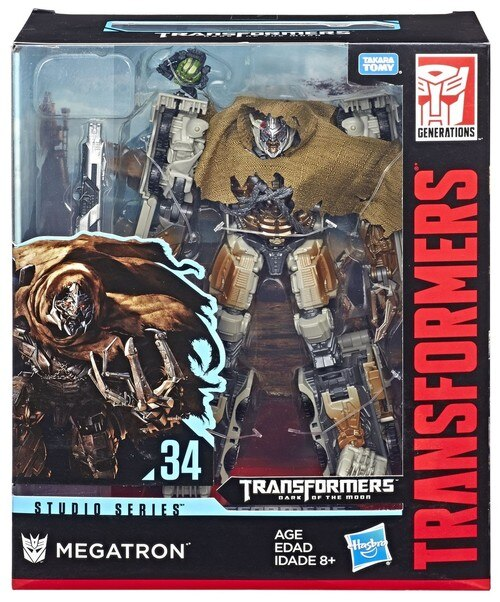 Transformers Generations Série Studio #34 Leader Megatron figurine USA