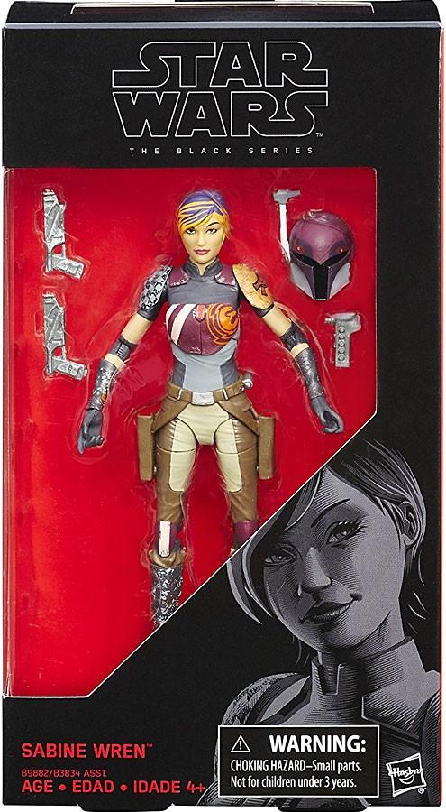 "6/"" Sabine Wren Action Figure-Hasbro STAR WARS SERIE NERA"