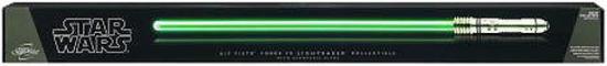 Details about Star Wars Force FX Lightsabers Kit Fisto Lightsaber