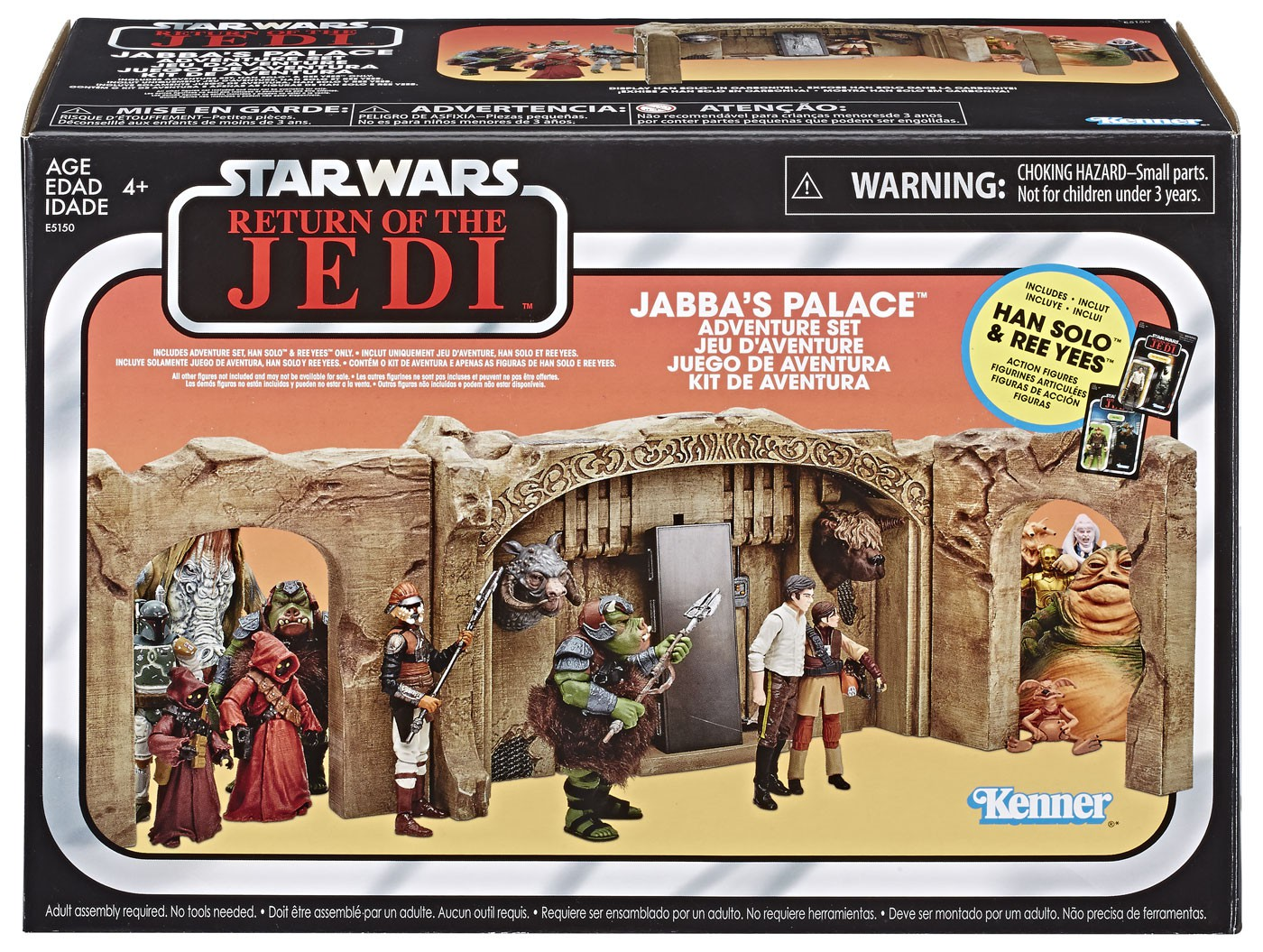 Star Wars Vintage Collection Jabba/'s Palace Adventure Set Complet Walmart nouveau