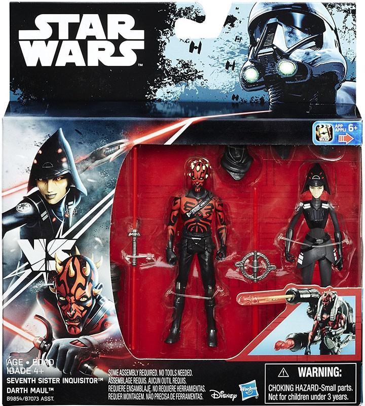 "DARTH MAUL vs SEVENTH SISTER 2-Pack Star Wars 3.75/"" Figure Rogue One Rebels"