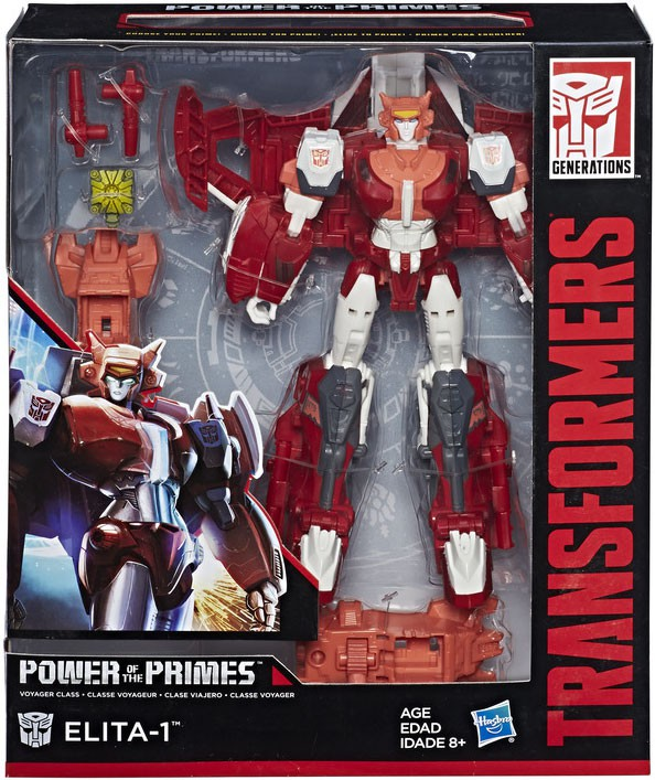 Transformers ~ ELITA-1 ACTION FIGURE ~ Voyager Class ~ Power of the Primes