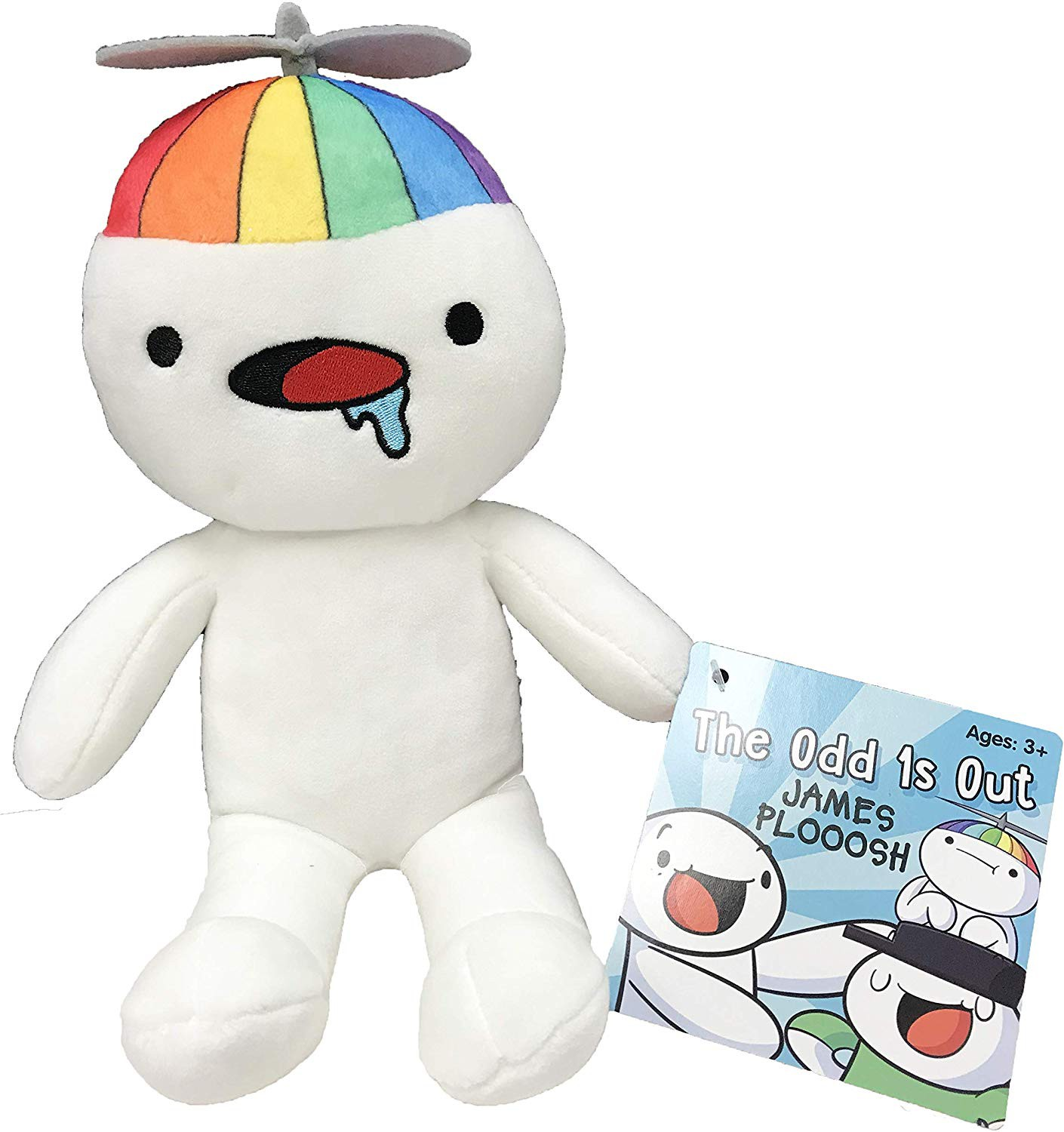"1x JAMES THE ODD 1/'S OUT ONES SUBWAY PLOOOSH 8/"" EXCLUSIVE OFFICIAL PLUSH IN HAND"