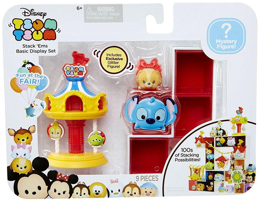 Disney Tsum Tsum Fun at the Fair Basic Display Set Carousel