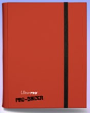 Ultra Pro Card Supplies Red 9-Pocket Binder