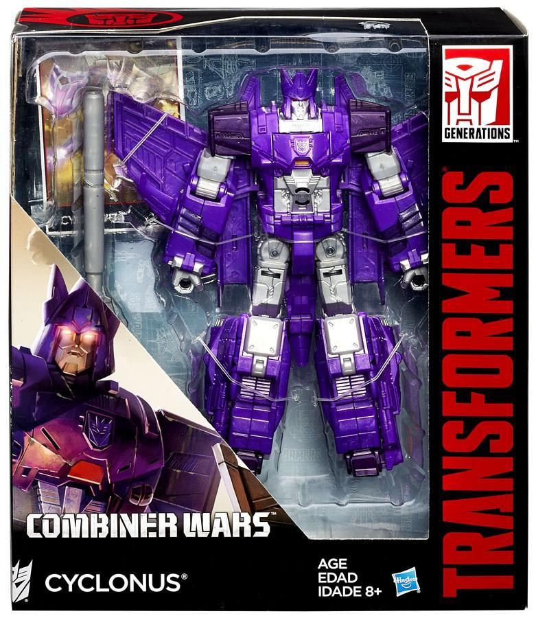 98334 Transformers Generations Combiner Wars Voyager CYCLONUS