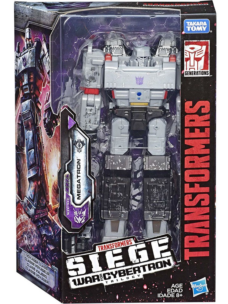 NEW TRANSFORMERS HASBRO WAR FOR CYBERTRON SIEGE MEGATRON VOYAGER ACTION FIGURE