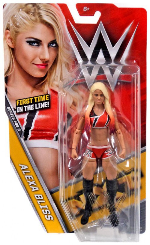 WWE ALEXA BLISS NXT BASIC SERIES 68 68.5 68B WRESTLING MATTEL ACTION FIGURE