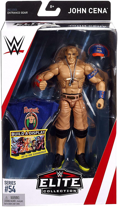 John Cena WWE Mattel Elite Collection Série 54 Wrestling Action Figure DMG Pkg